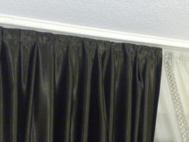 Foto 3 dunkel brauen und cremegardienen