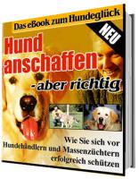 eBook ''Hund anschaffen - aber richtig''