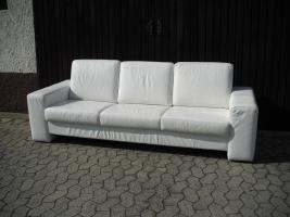 Foto 2 echt Leder Sofa
