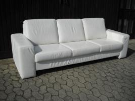 Foto 3 echt Leder Sofa