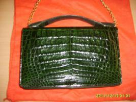 echte krokodilhandtasche