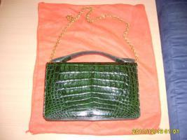 Foto 3 echte krokodilhandtasche