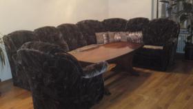 ecksofa, sofa und tisch
