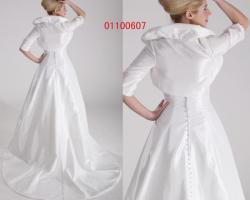 Foto 3 edressit Brautkleid Hochzeitskleid mit Bolero