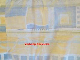 Foto 5 ehr schöner Vorhang Blickdicht bunt 2,50 Meter breit 2,20 Meter lang