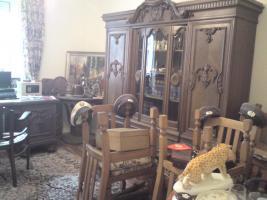 Foto 6 ein komplettes altes herrenzimmer, mit allen sachen die man sieht zum verkauf
