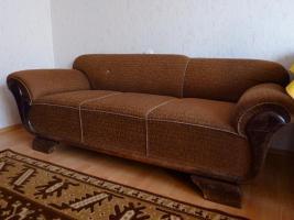 Foto 3 ein stabiles Sofa aus den 50ern in gutem Zustand