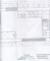 eine komplett neue Küche von einen Küchen  Designer