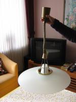 Foto 2 eine wertvolle Eßzimmerlampe
