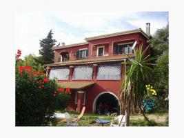 einfamilienhaus mit einliegerwohnung  corfu griechenland