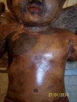 Foto 4 einmalig sehr schöner alter ENGEL um 1600 / 1700 ( gefunden in einem Kloster )