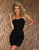 elegantes Bandeau Kleid Gr. M, kostenloser Versand , Neu
