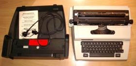 elektr. Koffer-Schreibmaschine