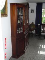 Foto 4 esszimmer mit vitrine echtholz