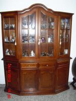 Foto 5 esszimmer mit vitrine echtholz