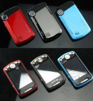 exilim handy 8 mega pixel blau, metall dual sim pda smartphone