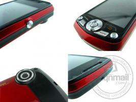 Foto 3 exilim handy 8 mega pixel blau, metall dual sim pda smartphone