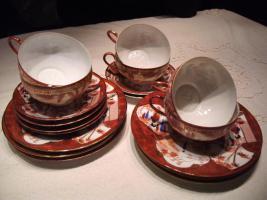 exklusives original japanisches Teeservice