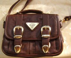 exquisite Designer Handtasche -Leder -neuw.
