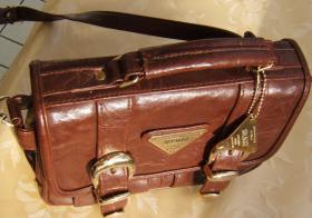 Foto 3 exquisite Designer Handtasche -Leder -neuw.
