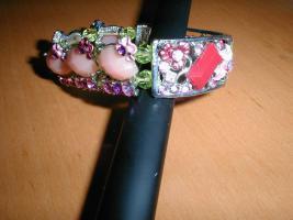 Foto 2 floraler Armband, Neu, unbenutzt, für kleine prinzessinen