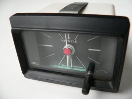 funktionstüchtig, Original Kienzle-Oldtimer-Autouhr 12 V, aus den 1970ern