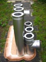 Foto 4 gebrauchter Edelstahlkamin 4,5 m doppelwandig (bei München)