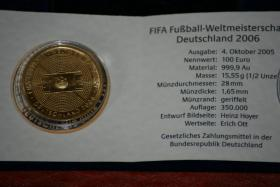 goldmünze 100 Euro Gold Fifa