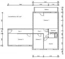 große 3 Zimmer Wohnung sucht Nachmieter zum 01.03.2011