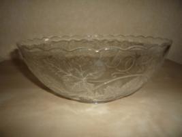 Foto 2 große Glasschüssel
