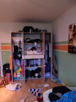 Foto 2 großen Kleiderschrank