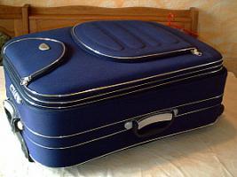 großer Reisekoffer-BLAU-TOP Zustand-neuwertig