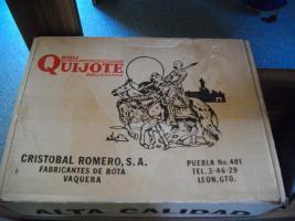 Foto 4 hallo, biete hier meine westernstiefel von don quijote an. ich habe sie nur einmal getragen, daher sind sie wie neu. echtes leder hand genäht, schräger absatz, mit 5cm.farbe schwartz.