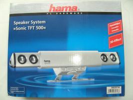hama-Lautsprechersystem Sonic TFT500 für PC