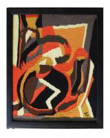 Foto 2 handgemachte Gobelin und Wandteppiche