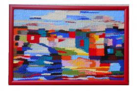 Foto 3 handgemachte Gobelin und Wandteppiche
