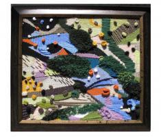 Foto 4 handgemachte Gobelin und Wandteppiche