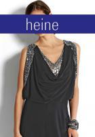 Foto 2 heine - Abendkleid mit Pailletten schwarz Gr. 36 - OVP - NEU