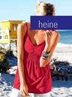 heine - Babydolltop rot Gr. 40 - OVP - NEU