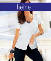 heine - Biesen-Bluse wei� Gr. 34 - OVP - NEU