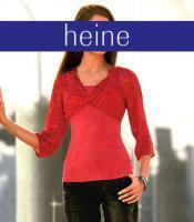 heine - Blusenshirt mit Seide in rot Gr. 36 - OVP - NEU