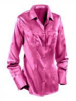 heine - Seiden-Satin-Bluse pink Gr. 38 - OVP - NEU