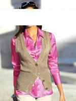 Foto 2 heine - Seiden-Satin-Bluse pink Gr. 38 - OVP - NEU