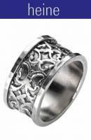 heine - Silberring Ring-Gr.: 18 - OVP - NEU