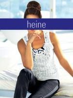 heine - Stricktop weiß-schwarz Gr. 40 - OVP - NEU
