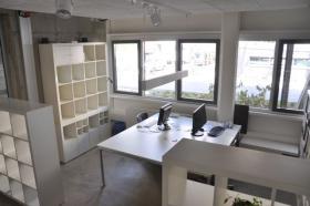 heller Büroraum im Flair der WERKSTADT SENDLING
