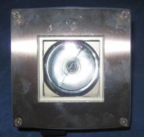 Foto 5 hochwertige Boden Einbau Leuchte aus Edelstahl IP 68