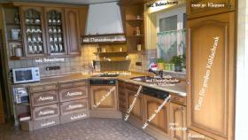 hochwertige Einbauküche inkl. Miele Spülmaschine /  L-Form