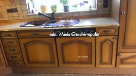Foto 3 hochwertige Einbauküche inkl. Miele Spülmaschine /  L-Form