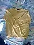 hochwertiger gelber Pullover Neu!